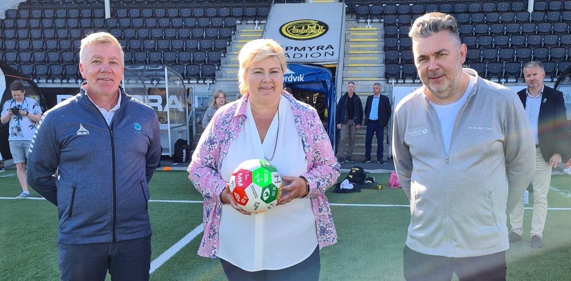 Fotballstiftelsen med fast plass på statsbudsjettet