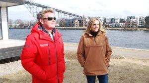 Morten Nyborg og Monica Brynhildsen. Foto: Hermund L. Kjernli, Mediehuset Dagsavisen