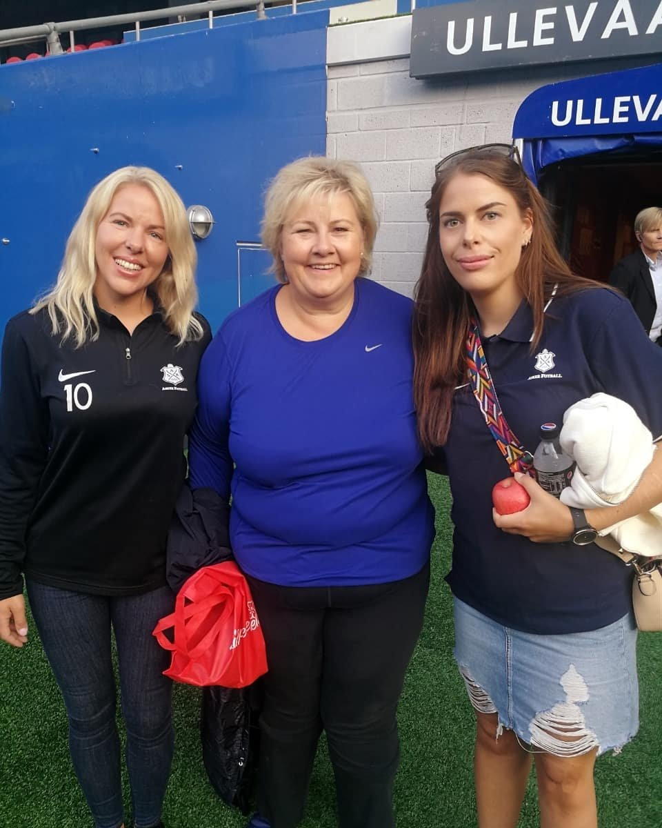 Carhrine, Erna og Bettina